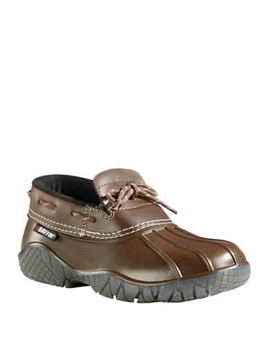 Baffin Ontario Leather Ducky Shoes-BROWN-8