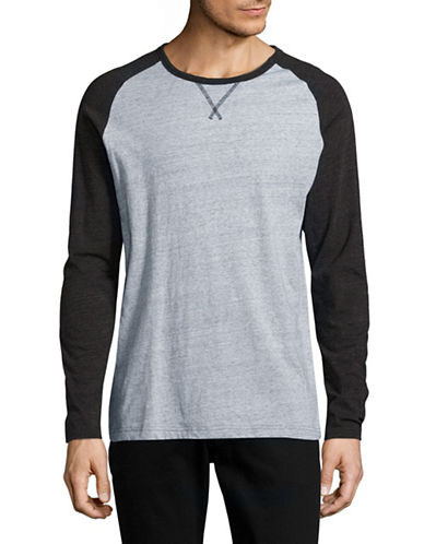 Black Brown 1826 Static Knit Raglan-Sleeve Top-BLACK-Small 89105707_BLACK_Small