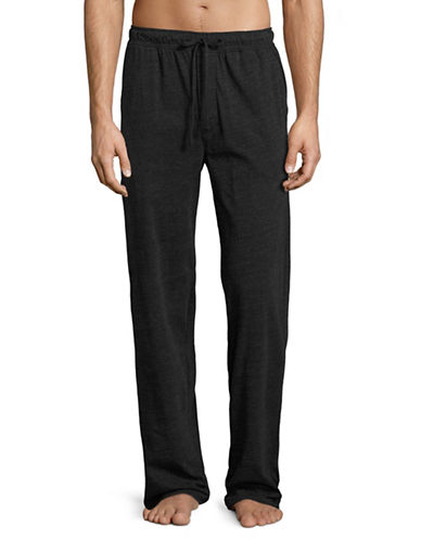 Black Brown 1826 Knit Lounge Pants-BLACK-Small 89105715_BLACK_Small