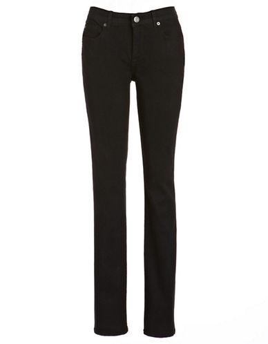 Calvin Klein Jeans Curvy Skinny Jeans-BLACK-6