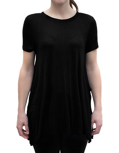 Bassike The Trapeze Tee-BLACK-X-Small 88315139_BLACK_X-Small