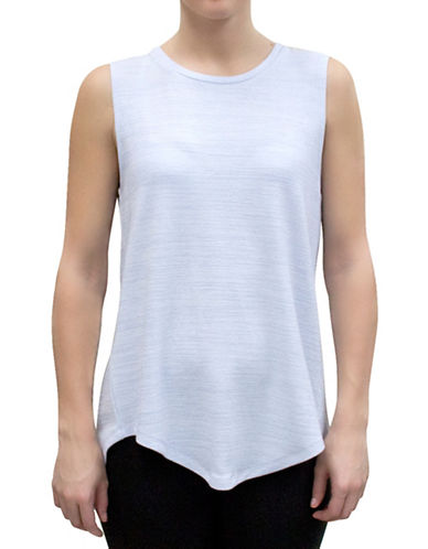 Bassike Marled Crossback Tank Top-BLUE-X-Small 88315838_BLUE_X-Small