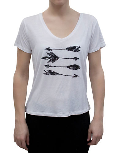 Bassike Feather Graphic Tee-WHITE-Small 88315811_WHITE_Small