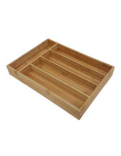 Mlm Bamboo Cutlery Tray-BAMBOO-One Size