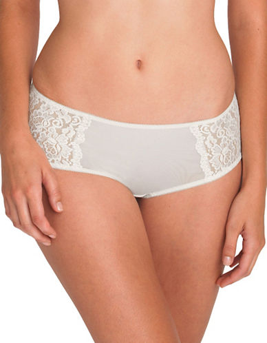 Triumph Petites All Over Lace Lace Hipster-VANILLA-Large