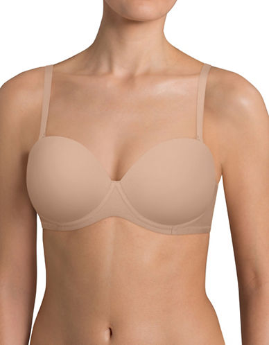 Triumph Convertible Push-Up Bra-NUDE-32B