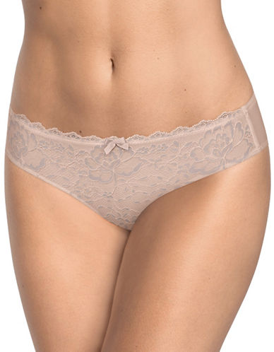 Triumph Endearing Lace Panties-GREY-Small