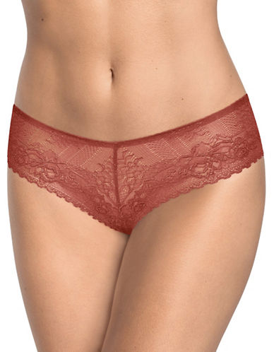 Triumph Darling Lace Thong-PINK-X-Small/Small