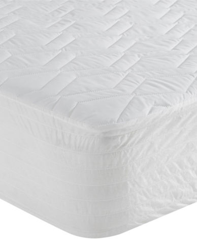 Simmons Protector Mattress Pad-NATURAL-Twin