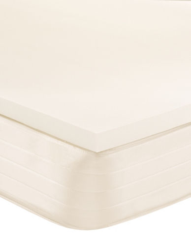 Simmons Two-Inch Memory Foam Topper-BEIGE-Twin