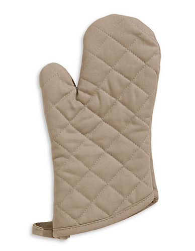 Distinctly Home Twill Oven Mitt-TAUPE-One Size