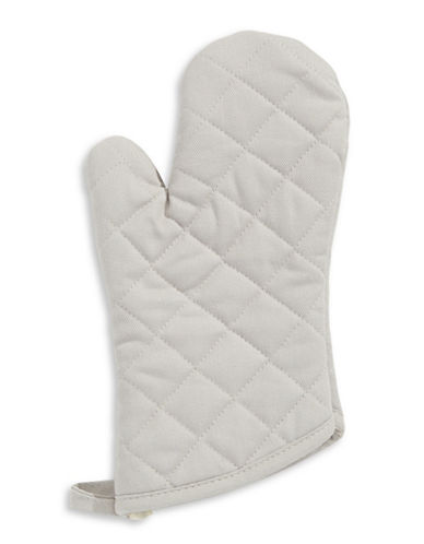 Distinctly Home Twill Oven Mitt-GREY-One Size