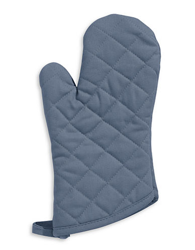 Distinctly Home Twill Oven Mitt-NAVY-One Size