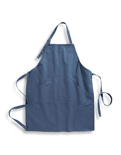 Distinctly Home Twill Apron-BLUE-One Size