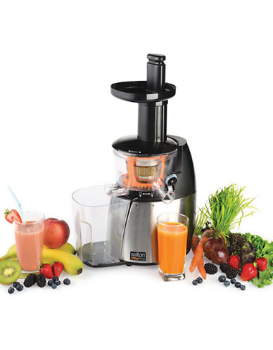 Salton Low Speed Juicer and Smoothie Maker-STAINLESS STEEL-One Size