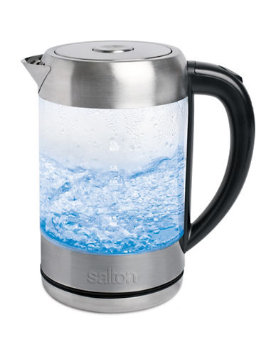 Salton Cordless Electric Glass Kettle-GLASS-One Size