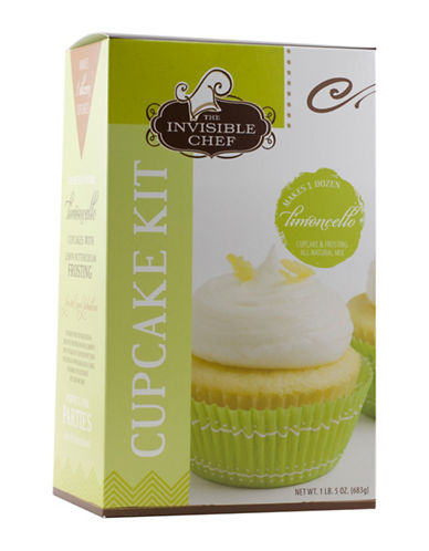 The Invisible Chef Limoncello Cupcake Kit-NO COLOUR-One Size