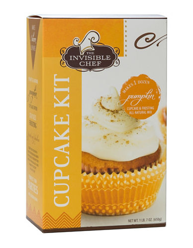 The Invisible Chef Pumpkin Cupcake Kit-NO COLOUR-One Size