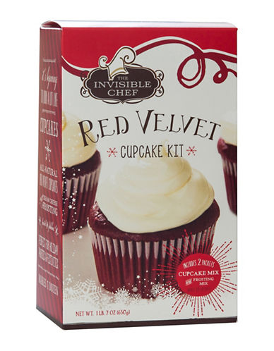 The Invisible Chef Red Velvet Cupcake Kit-NO COLOUR-One Size 89624812_NO COLOUR_One Size