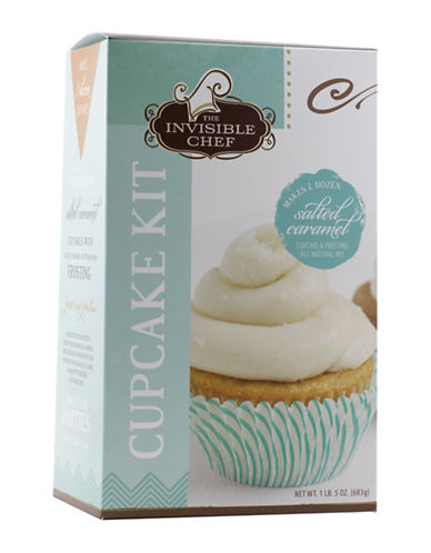 The Invisible Chef Salted Caramel Cupcake Kit-NO COLOUR-One Size