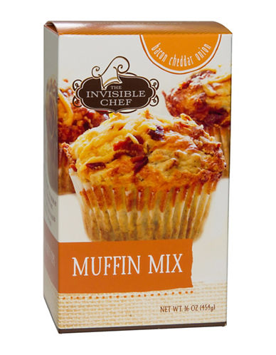 The Invisible Chef Bacon Cheddar Onion Muffin Mix-NO COLOUR-One Size