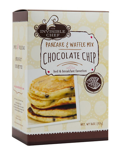 The Invisible Chef Chocolate Chip Pancake and Waffle Mix-NO COLOUR-One Size
