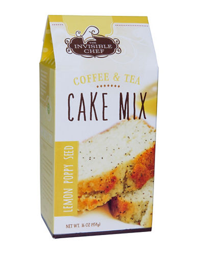 The Invisible Chef Lemon Poppy Seed Tea Cake Mix-NO COLOUR-One Size