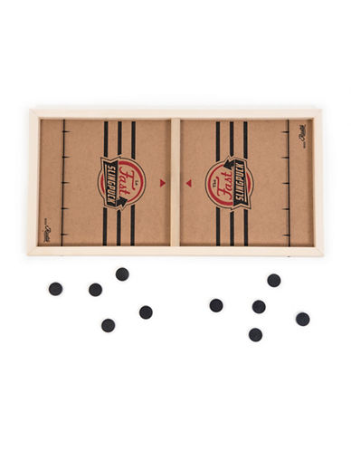 Rustic Games Fast Sling Puch Wood Game-MULTI-One Size