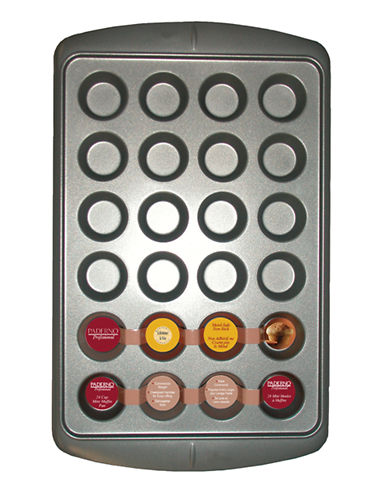 Paderno Mini 24 Cup Muffin Pan-STEEL-One Size 43654805_STEEL_One Size