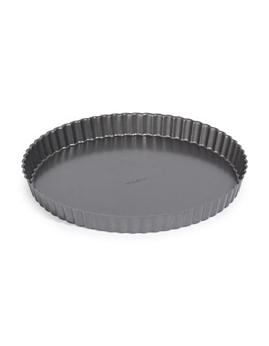 Paderno 9-Inch Tarte and Quiche Pan-BLACK-One Size