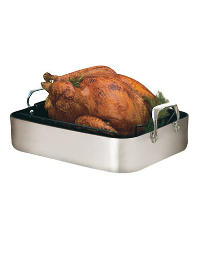 Paderno Open Roaster with Rack-SILVER-One Size