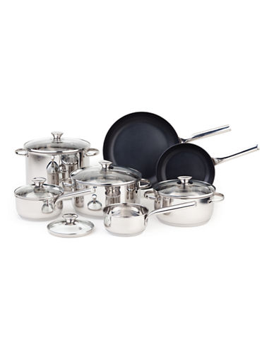 Paderno 12-Piece Hearthstead Cookware Set - Induction Ready-STAINLESS STEEL-One Size