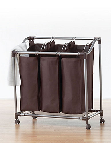 Neatfreak Deluxe 3 Section Sorter-BROWN-One Size