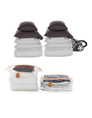 Neatfreak Vaccum Bags Double-Gusset Cube Bag - XL - 2Pack-CLEAR-X-Large