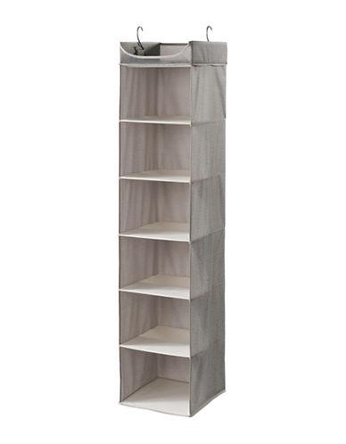 Neatfreak Harmony Twill Seven-Shelf Closet Organizer-GREY-One Size