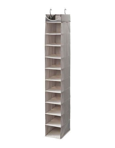 Neatfreak Harmony Twill Ten-Shelf Closet Organizer-GREY-One Size