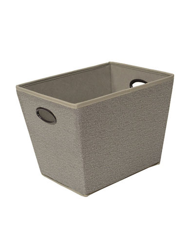 Neatfreak Harmony Twill Storage Bin-GREY-One Size