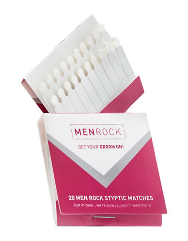 Men Rock Rock Styptic Matches-NO COLOUR-0