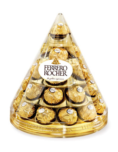 Ferrero Rocher 28-Piece Cone Pyramid-NO COLOR-One Size