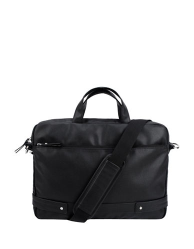 1670 Wesley Zip Around Messenger-BLACK-One Size