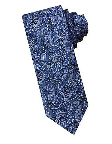 Paisley Silk Tie by Perry Ellis