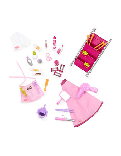 Our Generation Berry Nice Hair Salon Toy Set-MULTI-One Size