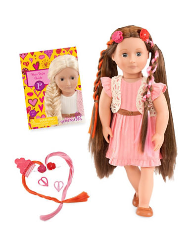 Our Generation Deluxe Parker Doll with Book-MULTI-One Size