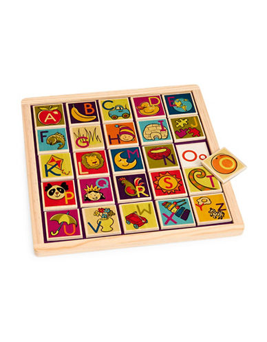 B. Magnetic Alphabet Puzzle-MULTI-One Size