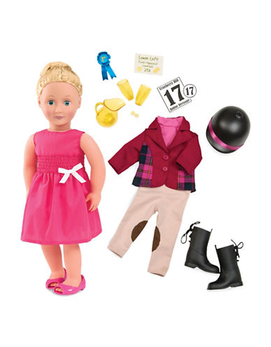 Our Generation Deluxe Lily Anna Doll with Book-MULTI-One Size