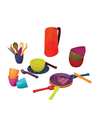 B. Lets Dish Set-MULTI-One Size