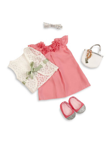 Our Generation Deluxe Pink Dress and Purse Doll Outfit-MULTI-One Size