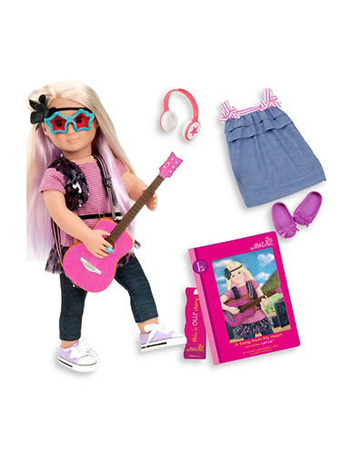 Our Generation Deluxe Layla Doll with Book-MULTI-One Size