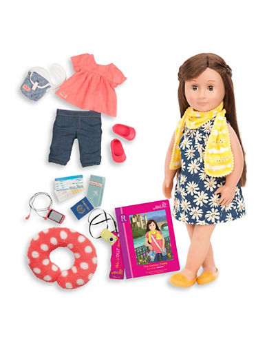 Our Generation Deluxe Reese Doll with Book-MULTI-One Size