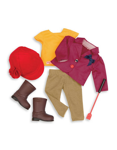 Our Generation Deluxe Riding Outfit Set-MULTI-One Size